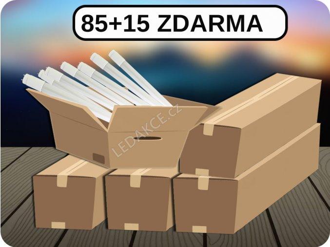 Led Trubice T8, 24W, 150 Cm, G13, (3000 Lm), 85+15 ZDARMA (Barva světla Studená bílá)
