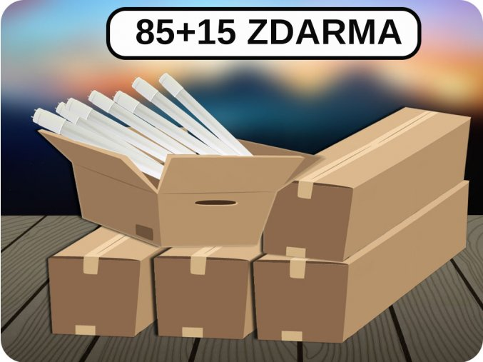 LED TRUBICE T8, 18W, 120 CM, G13, (1700LM), SAMSUNG CHIP, 85+15 ZDARMA (Barva světla Studená bílá)