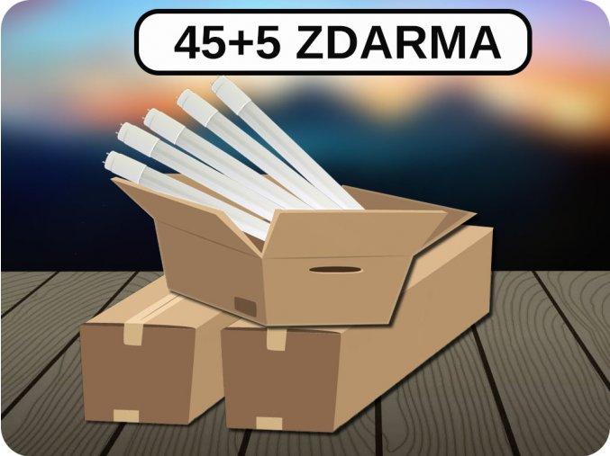 LED TRUBICE T8, 18W, 120 CM, G13, (2250LM), VYSOKO SvÍTIVÁ, SAMSUNG CHIP, 45+5 ZDARMA (Barva světla Studená bílá)