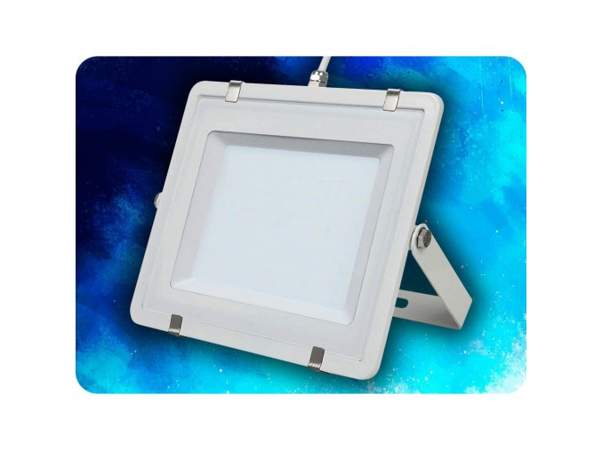LED REFLEKTOR 200W, SAMSUNG CHIP, 16000LM, BÍLÝ