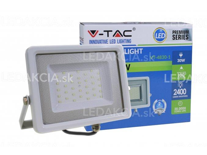 Vt-4830, Led Reflektor, 30W, 2400 Lm, Bílá (Barva světla Studená bílá)