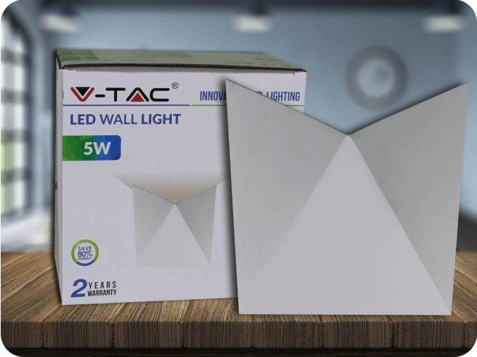 LED SVÍTIDLO 5W (550 LM), IP65, BÍLÉ (Barva světla Neutrální bílá)