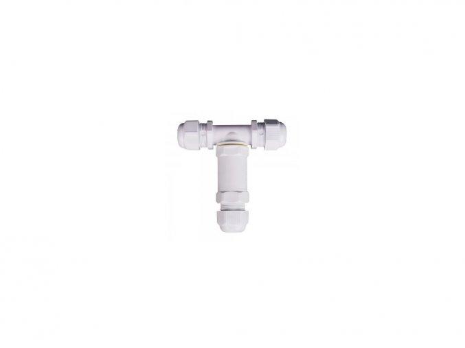 5499 1 vodeodolne pouzdro na spojovani kontaktu bile ip68