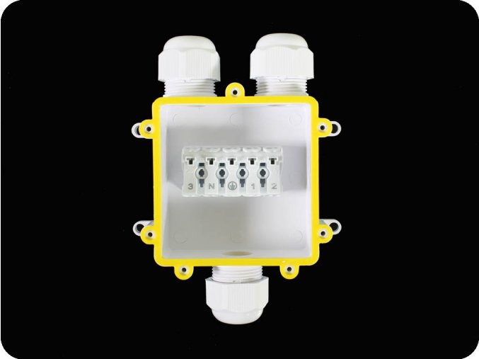 5505 2 vodeodolna krabicka na spojovani kontaktu ip 68