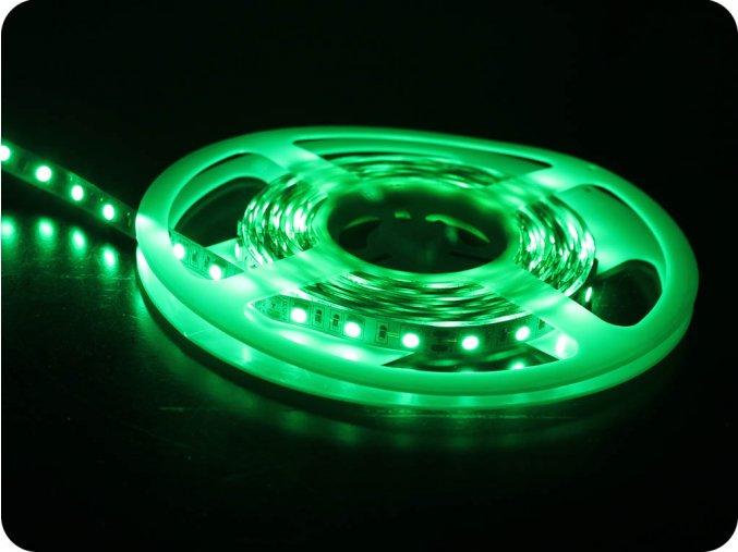5568 2 led pas do interieru 60 led smd 5050 zeleny ip20