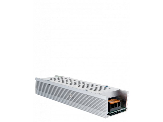 653 1 kovovy napajeci adapter pro led pasky 120w 10a