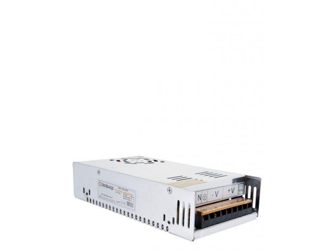 659 1 kovovy napajeci adapter pro led pasky 300w 25a
