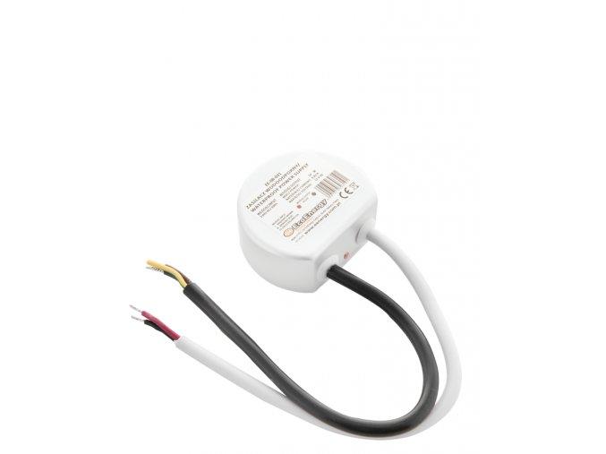 668 1 kovovy napajeci adapter pro led pasky 10w 0 83a ip67