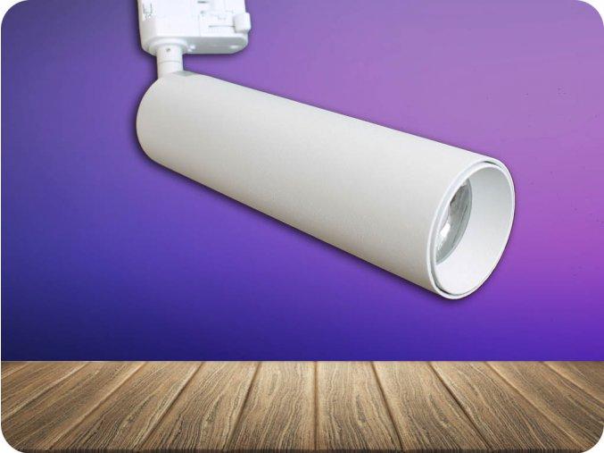 Kolejnicové LED SVÍTIDLO 20W, 1600LM, BÍLÉ, SAMSUNG CHIP (Barva světla Studená bílá)
