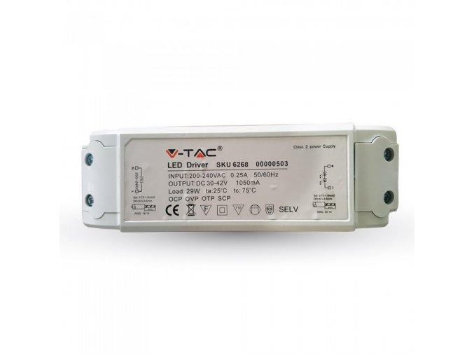 7119 1 adapter pro led panely v tac 29w stmivatelny