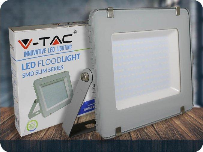 LED REFLEKTOR 150W, SAMSUNG CHIP, 12000LM, ŠEDÝ (Barva světla Studená bílá     6400K)