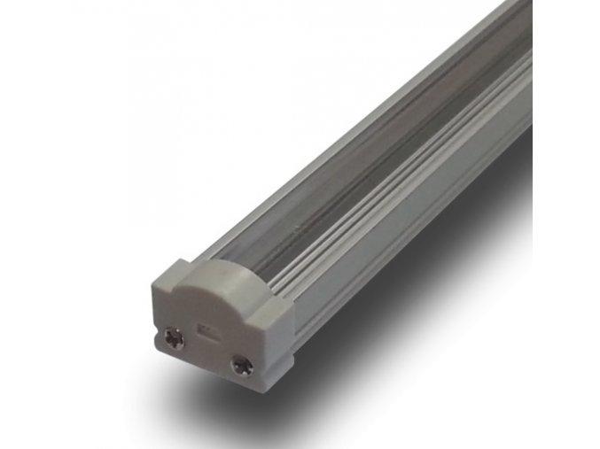HLINÍKOVÝ PROFIL 1 M PRO LED PÁSY ŠÍŘKY 8 A 10 MM (Krycí plast Mléčný)