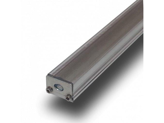 Hliníkový Profil 1 M Pro Led Pásy Šířky 8 Mm (Krycí plast Mléčný)