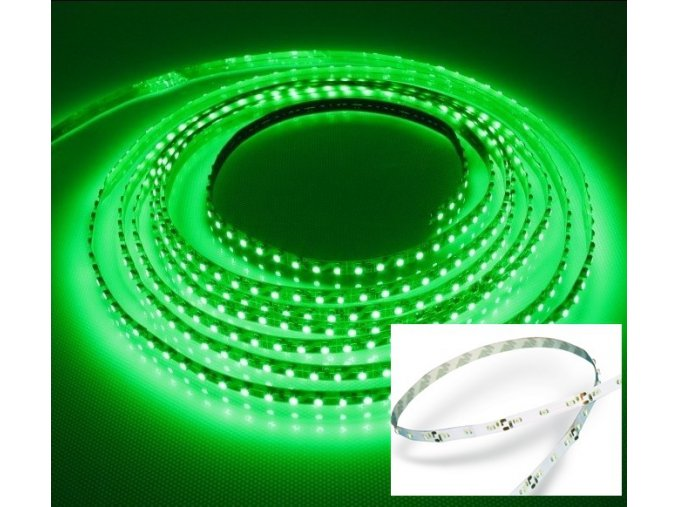 LED pás 60 LED / m SMD3528 3,6W / m IP20 (Farba Červená)