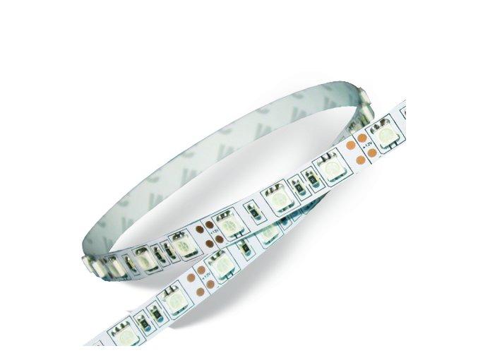 LED PÁS DO INTERIÉRU 60 LED / SMD 5050, IP20 (Barva světla Neutrální bílá)