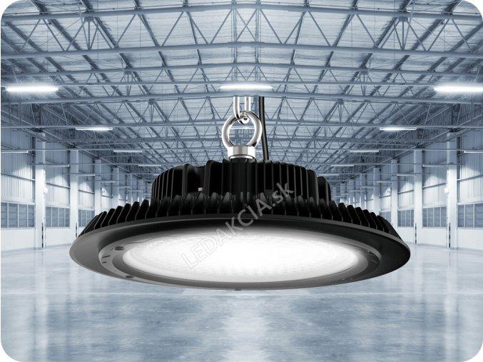 Průmyslový Led Reflektor''Ufo'' (Highbay) 100W (13500Lm), Vysocesvítivé A ++ (Barva světla Studená bílá)