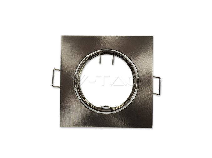 Rámeček Na Bodovou Žárovku Gu10, Čtvercový, Rotační (Farba rámiku Chrom)