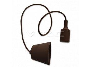 Přívěsek Pro E27 Žárovky, Hnedy  + Zdarma záruka okamžité výměny!