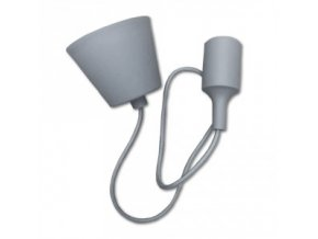 Přívěsek Pro E27 Žárovky, Šedý  + Zdarma záruka okamžité výměny!
