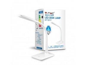 Led Stolní Lampa 7W, Touch-Dotykové Ovládání, Bílá  + Zdarma záruka okamžité výměny!