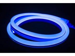 Led Neon Flex Modrý, 10M  + Zdarma záruka okamžité výměny!