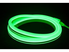 1466 1 led neon flex zeleny 10m