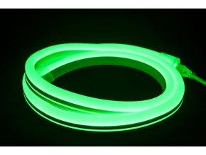 Led Neon Flex Zelený, 10M  + Zdarma záruka okamžité výměny!