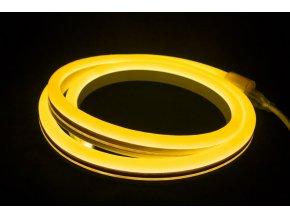 1469 1 led neon flex pas 8 10w 24v 10m zluty