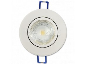 COB LED ZAPUŠTĚNÉ SVÍTIDLO 5W (Barva světla Studená bílá)