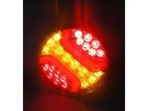 Zadní 34xLED světlo na kamion, 12-24V, levé  + pravé