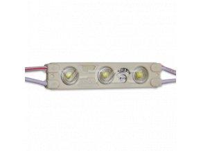 16409 led modul smd2835 3led 6000k ip65 modry