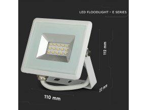 10W LED reflektor E-Series SMD (850lm), bílý
