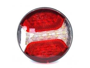 Zadní 24xLED světlo na kamion, 12-24V, levé  + pravé