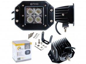 LED pracovní světlo 60W (3500lm), 12-24V, IP67