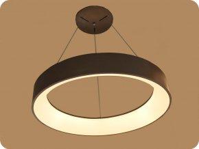 LED závěsné stropní svítidlo 30W (2250LM), coffee barva, 3000K
