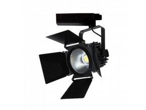 LED kolejnicové svítidlo 33W, černé (2640lm), 24-60 °, SAMSUNG chip (Barva světla Studená bílá)