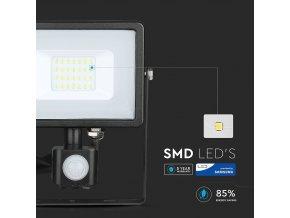 20W LED reflektor se senzorem SMD, SAMSUNG chip