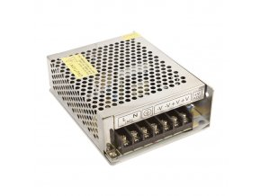 1700 1 kovovy napajeci adapter pro led pasky 100w 8 2a