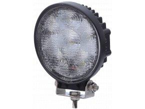 Led Epistar Pracovní Světlo, 18W, Kulaté 1100 Lm, 9-32V, Ip67  + Zdarma záruka okamžité výměny!