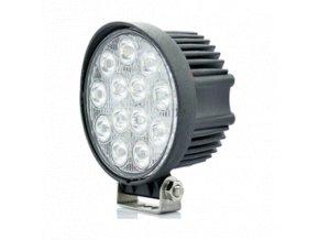 Led Epistar Pracovní Světlo, 39W, Kulaté 2500 Lm, 12-24V, Ip67  + Zdarma záruka okamžité výměny!