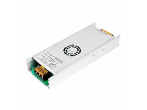 17375 2 kovovy napajeci adapter pro led pasky 350w 15a dc 24v ip20