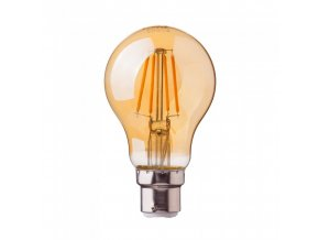 17972 1 vt 228 4w a60 filament bulb amber cover with samsung chip colorcode 2200k b22