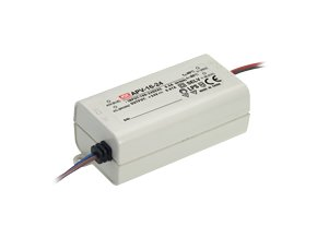 1799 1 mean well napajeci adapter pro led aplikacie 15w 1 25a