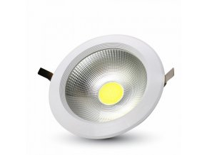 18143 40w led cob downlight reflector series colorcode 3000k high lumen
