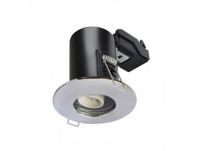 18212 1 vt 702 gu10 shower fire rated downlight fitting ip65 chrome