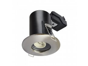18215 1 vt 702 gu10 shower fire rated downlight fitting ip65 satin nickel