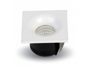 18245 vt 1123 sq 3w led downlight fixed type colorcode 6400k