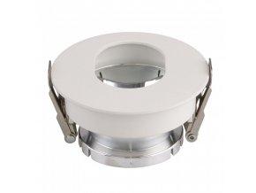 18632 vt 874 gu10 fitting round white chrome