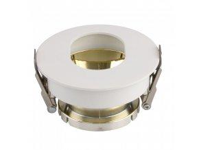 18638 vt 874 gu10 fitting round white gold