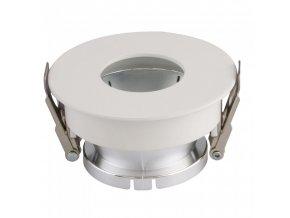 18644 vt 873 gu10 fitting round white chrome